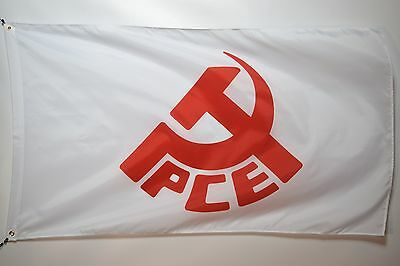 Communist Party of Spain Flag Flag Banner 3x5