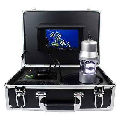 """New 7"""" LCD Underwater Video Camera Fish Finder 700TVL DC12V 100m  With SD Card"""
