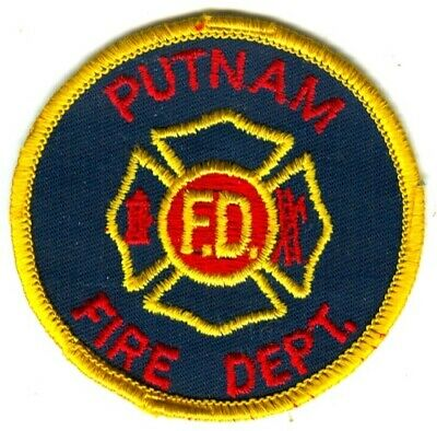 Putnam Fire Department Dept PFD Rescue EMS Patch New York NY Patches OLD USED -