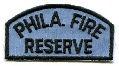 Philadelphia Fire Department Reserve PFD Rescue EMS Patch Pennsylvania PA OLD -