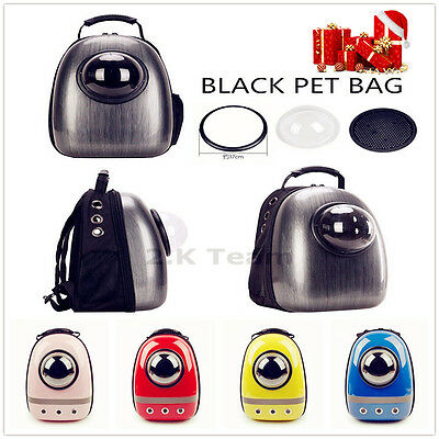 Astronaut Space Dog Cat Pet Puppy Capsule Breathable Backpack Carrier Travel Bag