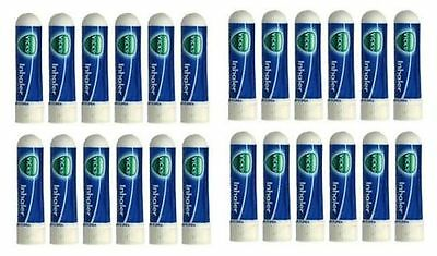 Vick's Nasal Inhaler -Great for Cold, Sinus & Allergy Pack Of 12 Free Shipping