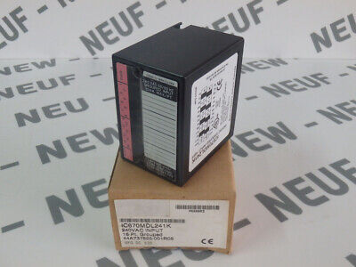 Ic670Mdl241 - Ge Fanuc - Ic670Mdl241 / New Grouped Input 16 Pt