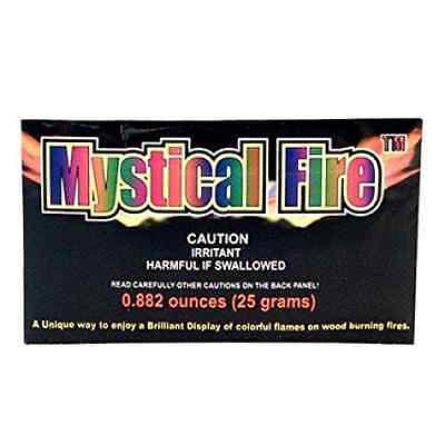 Magic Dust to create Coloured Flames - Mystical Fire-Pack of 10