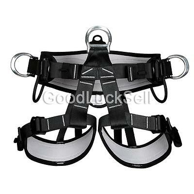 Pro Tree Carving Fall Protection Rock Climbing Equip Gear Rappelling Harness CAN