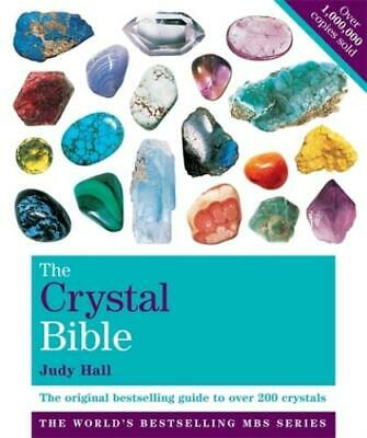 The crystal bible: a definitive guide to crystals by Judy Hall (Paperback)