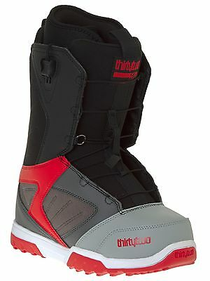 Thirty Two Grey-Black-Red Groomer Fast Track Snowboard Boots