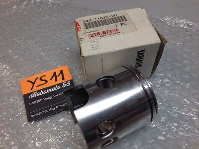 Yamaha 444-11635-00 DT125 74 / 75 DT 125 piston +0.25 oversized 0.25 NOS