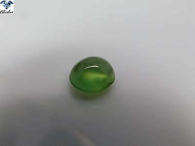 1x Prehnit - Oval Cabochon 9,3x8,3x5,8mm 3,34ct. (2012B)