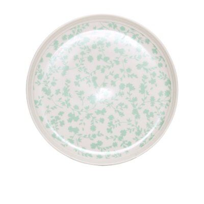 NEW Salt & Pepper Eclectic Coupe Plate 19cm Green
