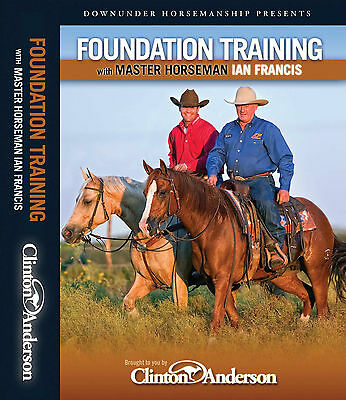 Ian Francis 3 DVD TITLES  - SAVE $55 - Horse Training DVDs