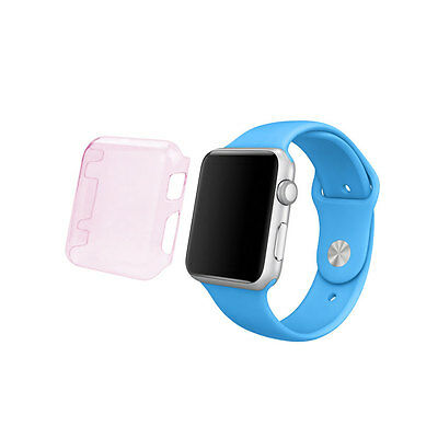 Reiko 42Mm Iwatch Clear Screen Protector In Pink