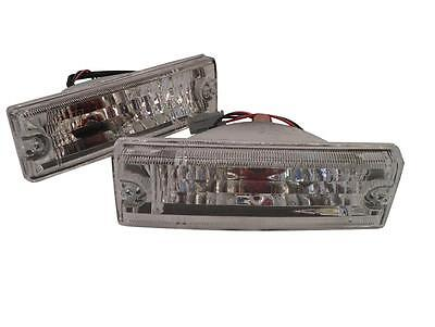 New Front Bumper Bar Lights Indicators For Holden TF Rodeo 91-97 Crystal Style