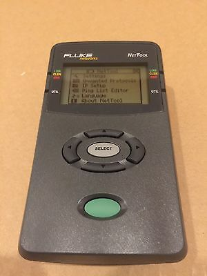 Fluke Networks NetTool 10/100 Cable Tester with Case