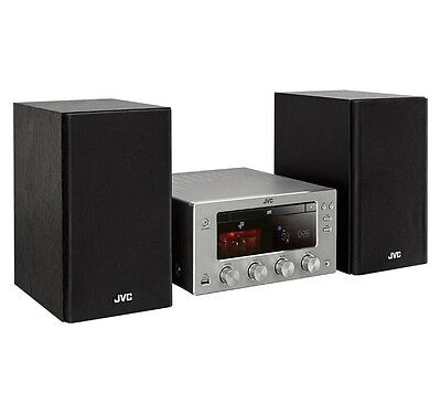 Jvc Ux-D150 150W Micro Hifi Stereo Valve Amp Dab Cd Wireless Bluetooth Nfc Usb