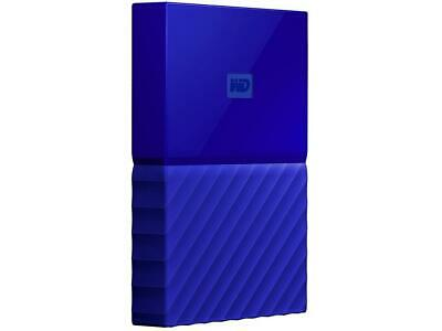 WD 1TB My Passport Portable Hard Drive USB 3.0 Model WDBYNN0010BBL-WESN Blue