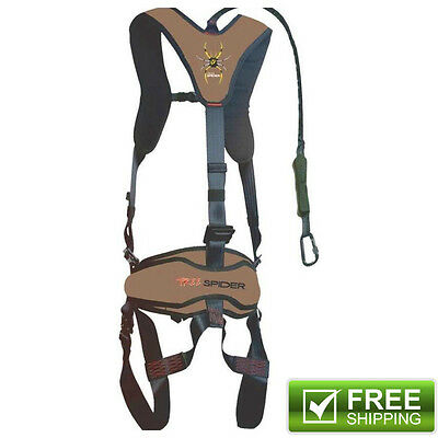 Venom Safety Treestand Climbing Harness with Carabiner and Tree Strap ScentBlock