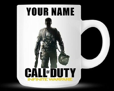 Personalised Call Of Duty Infinite Warfare COD Mug Cup Birthday Christmas Gift