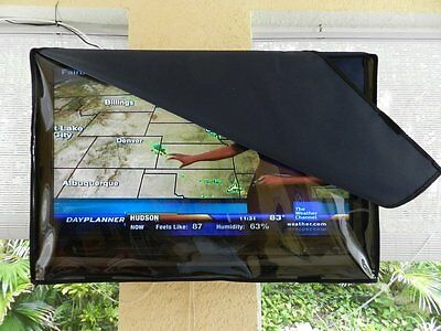 42 Inch Invisible Clear Waterproof Outdoor Tv Television Cover Double Protection