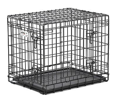 Midwest Homes For Pets Ultima Pro Fold and Carry Double Door Pet Crate
