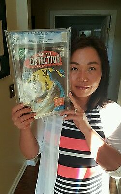 Detective Comics #475 CGC 9.6 Off White to White Pages