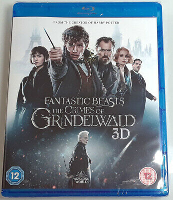 FANTASTIC BEASTS: THE CRIMES OF GRINDELWALD Brand New 3D BLU-RAY + 2D Blu-ray