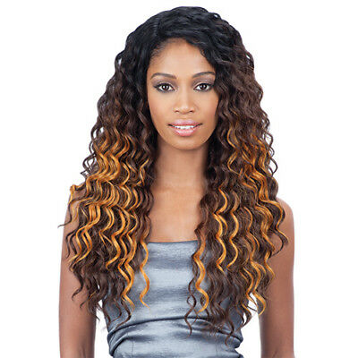 Kylie - Freetress Equal Synthetic Deep Invisible L-Part Lace Front Wig
