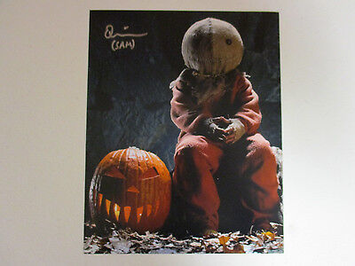 Trick R Treat Quinn Lord Sam Autographed Signed 8X10 Photo Exact Signing Proof
