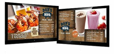 Static Graphic or Animation Design ONLY for Menu Board, Takeaway , Restaurants