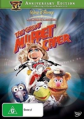 Great Muppet Caper, The (50th Anniversary Edition) - DVD Region 4 (New & Sealed)