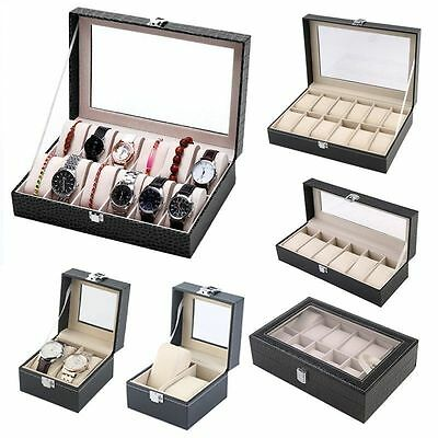 Jewelry Earrings Ring Necklace Watch Display Boxes Stand Holder Show Rack Neu RT