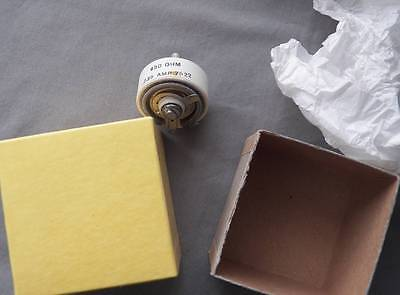 Vintage 450 Ohm Variable Resistor, New Old Stock