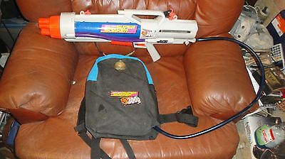 Super Soaker CPS 3000 Complete with Backpack! Tested! Works,! 1997