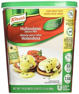 Knorr Hollandaise Sauce Mix ,1.5 Pound ,Sauces, Gravies & Marinades, NEW