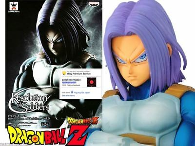 Dragon Ball DBZ Future Trunks Resolution of Soldiers Banpresto figure figurine
