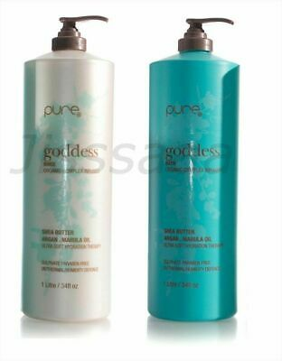PURE by Juuce GODDESS 1000ml Duo Bath & Rinse Duo Shampoo & Conditioner