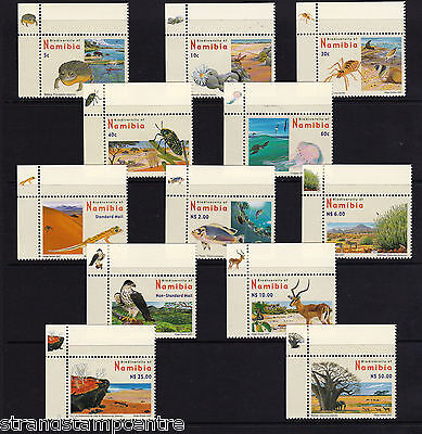 Namibia - 2007 Biodiversity - U/M - SG 1053-64 Corners with Picture