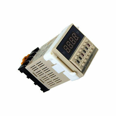DH48S-S AC 220V repeat cycle SPDT time relay with socket DH48S series 220V AU NE
