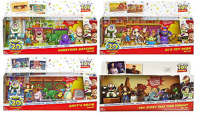 Disney/Pixar Toy Story 20th Anniversary 7Pack Gift Set by Mattel Collect all!