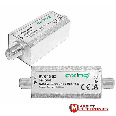 Axing BVS 10-02 Home Connection Amplifier with Passive Backward Channel 10 dB