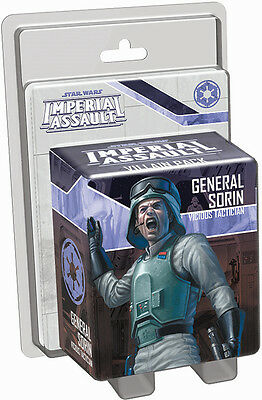 Star Wars Imperial Assault General Sorin Villain