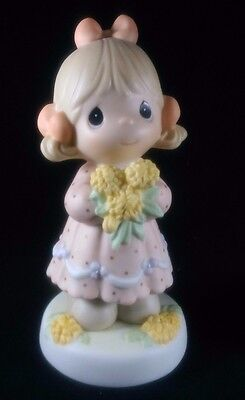 Precious Moments 795232V ~MIB~ YOU'RE A DANDY MOM, AND I'M NOT LION + Bud Vase