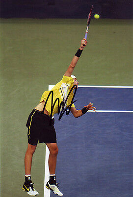 John Isner Hand Signed 8X12 Inches Tennis Photo