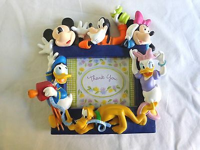 mickey mouse and friends picture frame 35 x 5 minnie donald duck pluto goofy