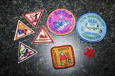 Girl Scout 1987 Patches-8