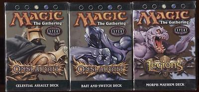 Magic The Gathering mtg 3 Seal Deck Morph Mayhem Bait & Switch Celestial Assult