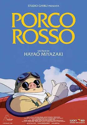 PORCO ROSSO Movie POSTER 11x17 Italian