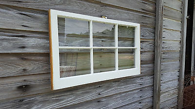 Vintage Sash Antique Wood Window Unique Frame Pinterest Wedding 32X20 Six Pane