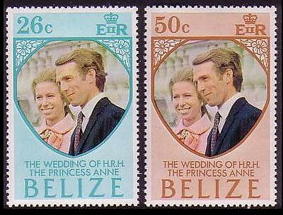 Belize Royal Wedding 2v SG#360/61 SC#325-26 MI#310-11
