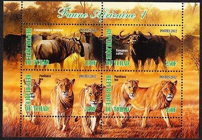 Chad Wildlife Sheetlet issue No 1